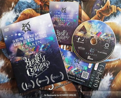 Dvd Kraken - Huella Y Camino (documental La Historia)
