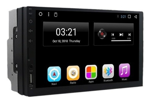 Auto Radio Android Puro 7 Pulgadas Full Touch Hd Wifi Gps