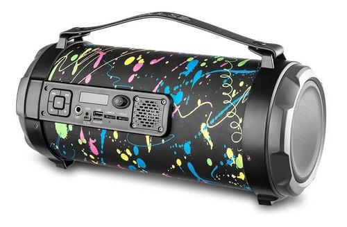 Caixa De Som Multilaser Pulse Bazooka Paint Blast Il 120w