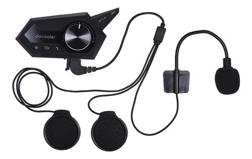 Docooler - Auriculares Inalámbricos Para Casco De Motociclet