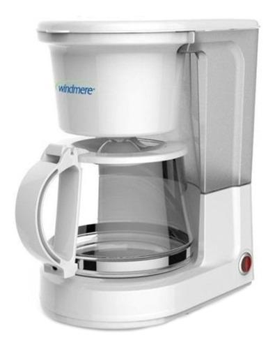 Cafetera Windmere Cm410-ar Semi Automática Blanca De Filtro