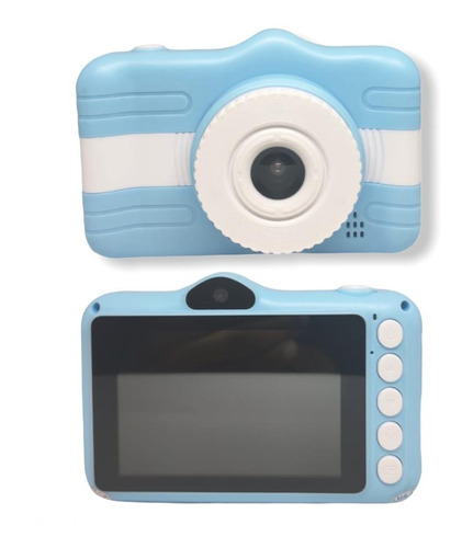 Câmera Fotográfica Digital Kids Infantil Foto E Video Sd