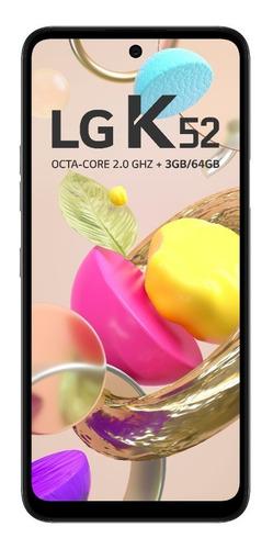 Smartphone LG K52 4g Tela 6,59 64 Gb 3gb Ram Cinza