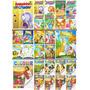 Kit Com 24 Livros Bíblicos Infantil 16 P/ Ler E 8 P/ Pintar