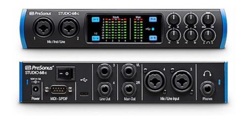 Interface De Audio Presonus Studio 68c Novo Lacrado !