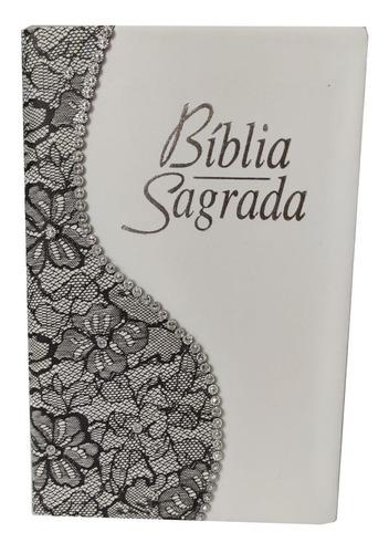 Bíblia Feminina Letra Gigante Com Harpa E Capa Transparente