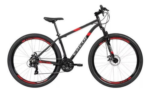 Mountain Bike Caloi Supra 2020 Aro 29 M 21v Freio Caliper Câmbios Power Index Y Shimano Tourney Ty300 Cor Cinza