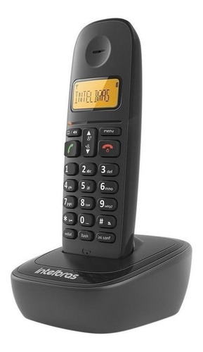 Telefone Sem Fio Intelbras Ts 2512 Preto