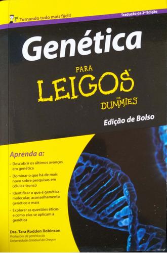 Livro Genética Para Leigos Edição De Bolso