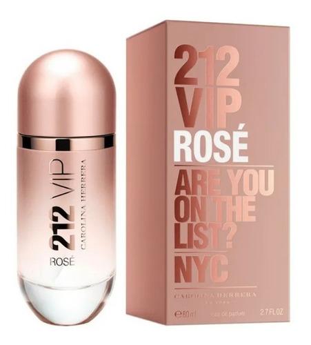 Perfume Locion 212 Vip Rose Importado L - L a $1750