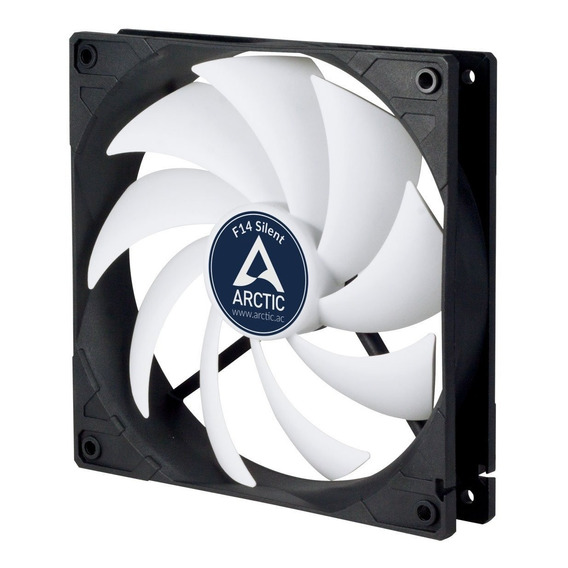 Fan Cooler Arctic F14 Silent - Ultra Quiet 140 Mm Fan, Virtu