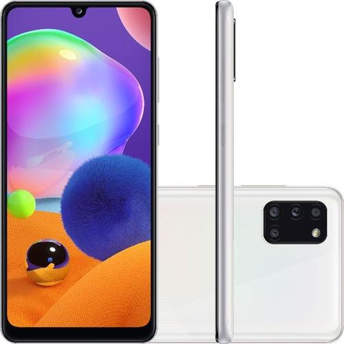 Smartphone Samsung Galaxy A31 Tela 6.4 128gb 4gb Ram Android