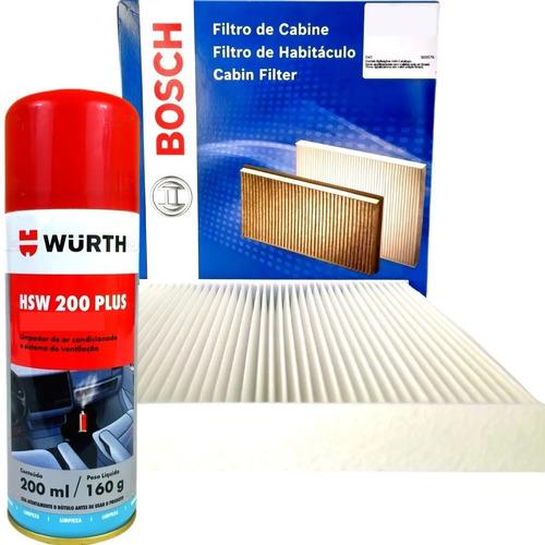Filtro Ar Condicionado Cabine De Carro Bosch Higienizador