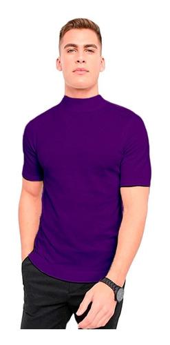 Camiseta Gola Alta Stecchi
