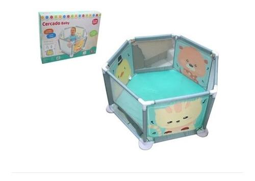 Cercadinho Baby Cercado Crianças Bebê Chiqueirinho Dm Toys