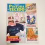 Revista Faça Já Pintura Em Tecido Toalha De Banho Cc558