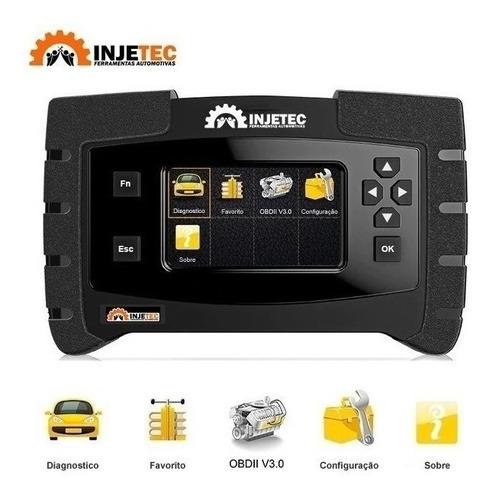 Scanner Automotivo P/ Ciclo Otto/diesel Leve Ij-2153 Injetec