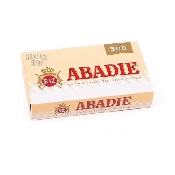 Papel Sedas Abadie Block X500 Finas Para Armar Cigarrillos