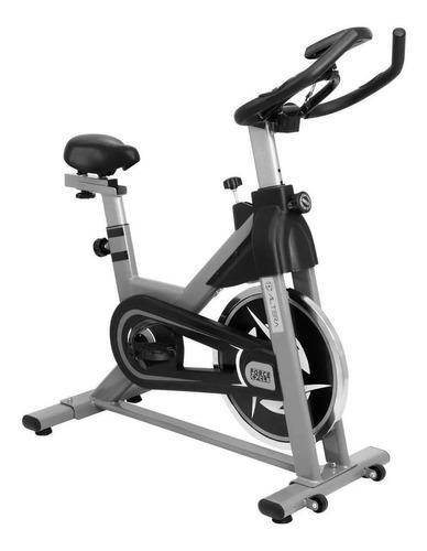 Bicicleta Fija Altera Spal Alt550-6 Para Spinning Gris Y Negra