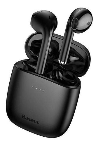 Auriculares In-ear Inalámbricos Baseus W04 Negro