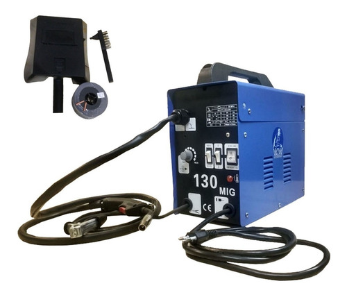 Máquina Mig 130 Nao Usa Gas 110volts+arame Gratis + Brindes