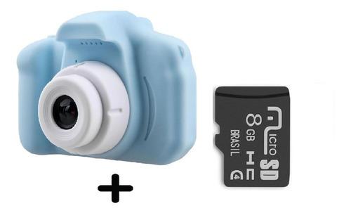 Câmera Infantil Mini Efeitos Fotos Voz Mais Cartão Memoria