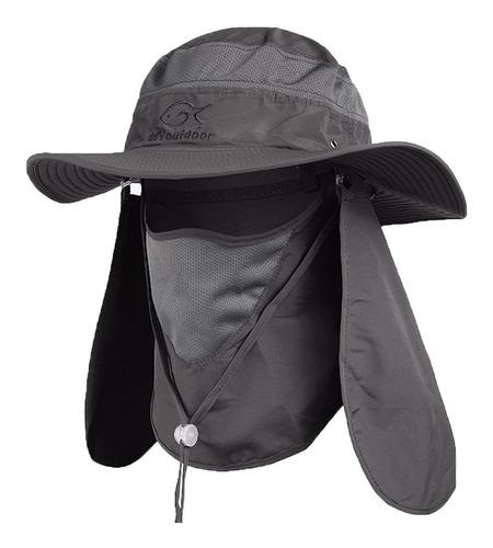 Sombrero Protección Solar Al Aire Libre Con Cuello Y Visera