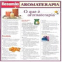 Mapa Livro Resumão Aromaterapia Colorido