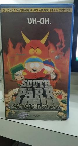 South Park -maior, Melhor E Sem Cortes -vhs Original