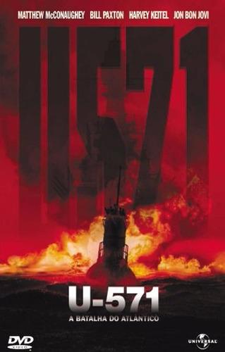 U571 A Batalha Do Atlantico Dvd Novo  Lacrado Original