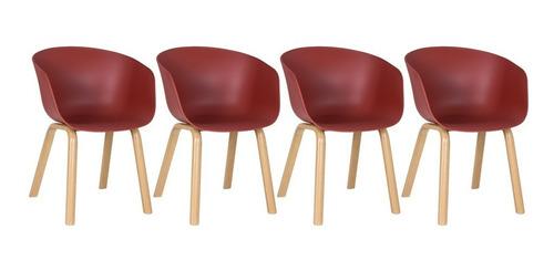 Kit - 4 X Cadeiras Cassia - Coloridas