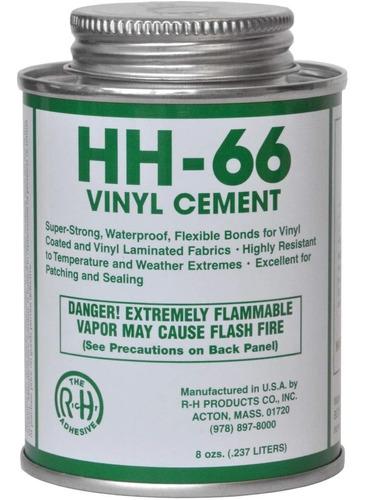 Hh-66 Pvc Vinilo Cemento Pegamento Con Cepillo 8oz (1)