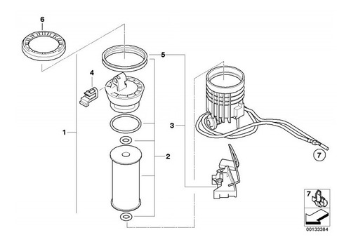 Kit Filtro De Combustible, Juntas Teóricas Minir50 R52 R53 Foto 4