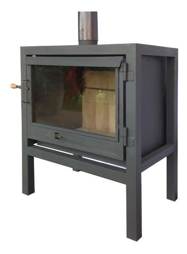 Calefactor De Hierro A Leña