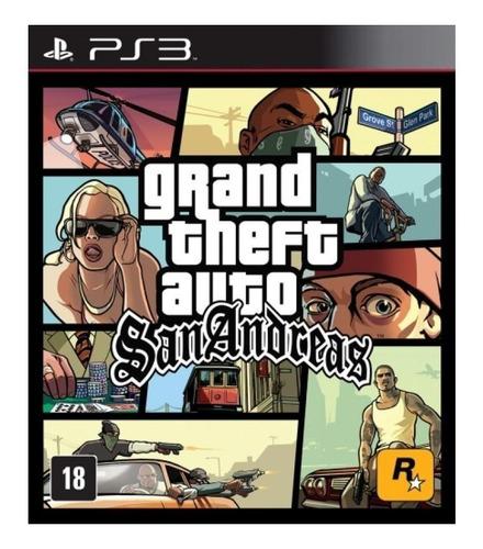 Grand Theft Auto: San Andreas Rockstar Games Ps3  Digital