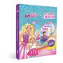 Livro Box C/6 Barbie Dreamtopia Um Universo Fantastico