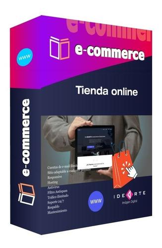Sitio Web + E-commerce - Tienda Online, Diseño Paginas Web