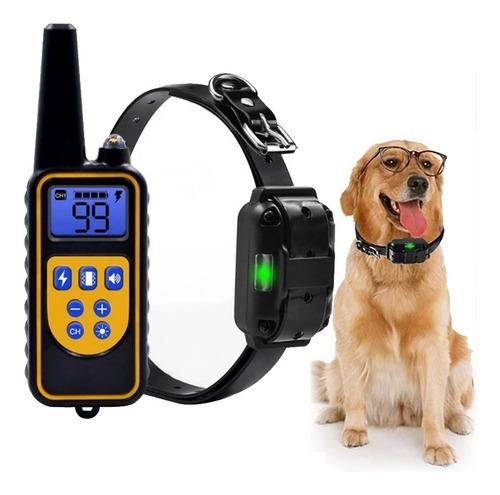 Coleira De Treinamento De Cão De Choque Eletrônico Para Cães