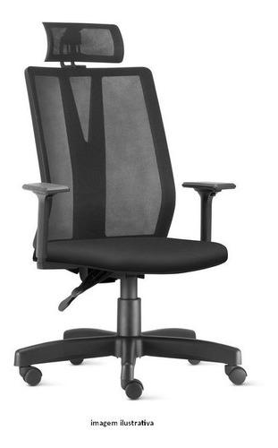 Cadeira Escritorio Presidente Addit Apoio De Cabeça