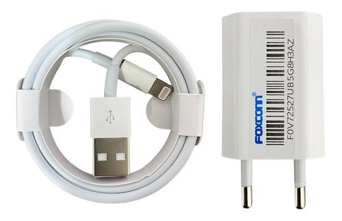 Carregador Turbo iPhone 7 8 X Xr Xs 11 12 Certificado Anatel