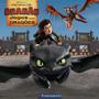 Livro Como Treinar O Seu Dragão Jogos Com Dragões (dream