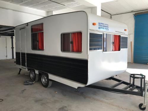Casa Rodante 450 Doble Eje | Lomas Camping - Luis Guillón