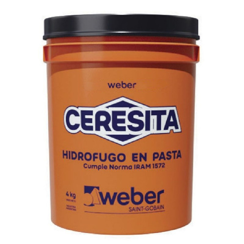 Hidrofugo Ceresita X 4 Kg Weber Iggam