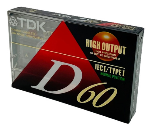 Cassette Virgen Tdk Aiwa Sellado De Fábrica 60/90 Minutos