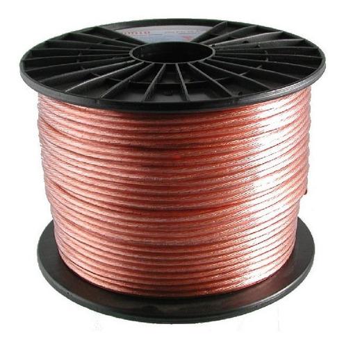 Cable Parlante 2x2 Mm Hi Fi Libre Oxigeno Plugtech, Hi-track