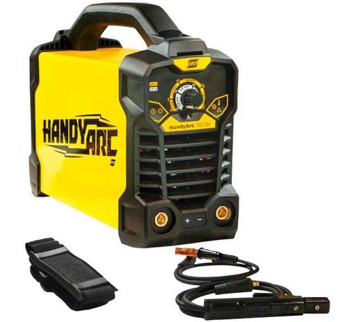 Máquina Solda Inversora Handy Arc 132i Bivolt 110v/220v Esab