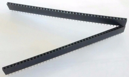 Tira Pines Hembra 1x40 No Fraccionable 2.54mm Itytarg