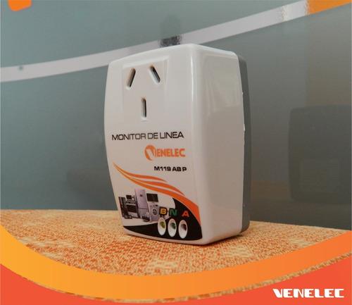 Protector De Linea Para Electrodomésticos. Monitor De Linea