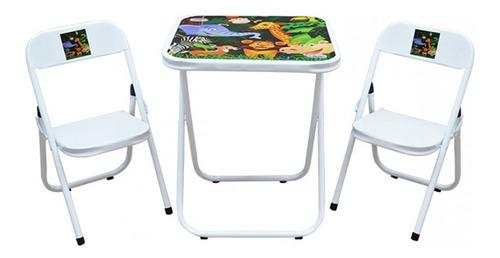 Mesa Mesinha Didatica Infantil Com 2 Cadeiras Crianças