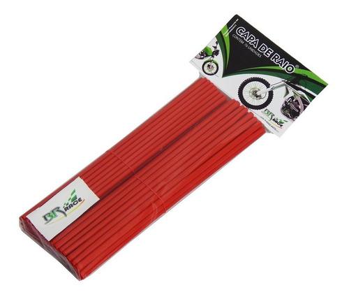 Capa Raio Universal Motos Bicicleta Bike Resistente Vermelho